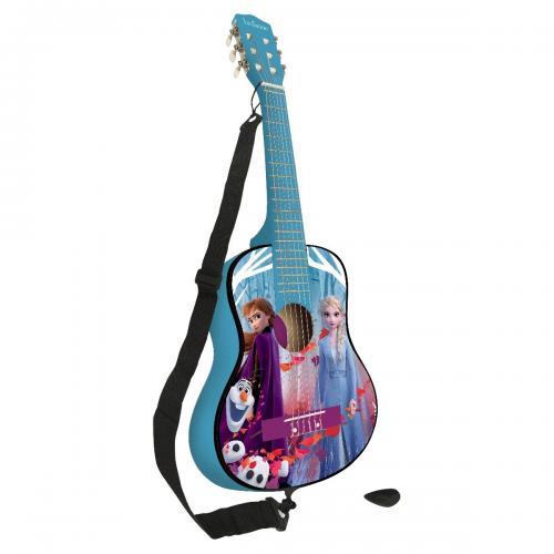 Chitara acustica de lemn Disney Frozen 2 - 78 cm - Jucarii interactive -