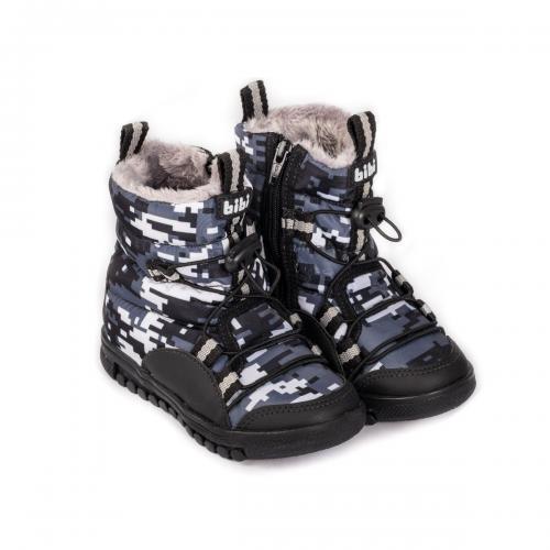 Cizme cu blanita Bibi Shoes Roller Camuflaj - Imbracaminte copii - Incaltaminte copilasi