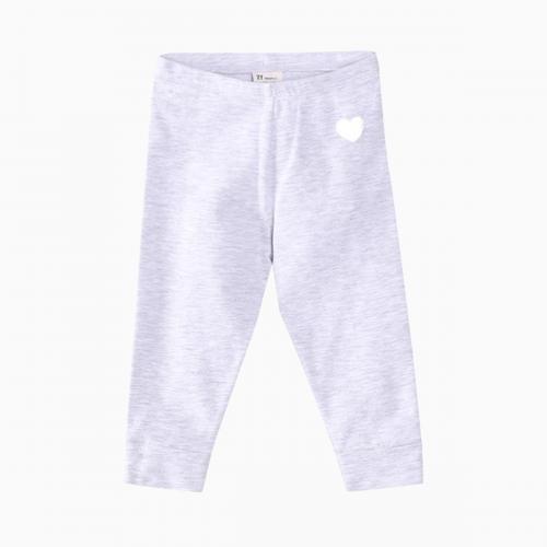 Colanti cu talie elastica Heart Zippy - Gri - Imbracaminte copii - Pantaloni