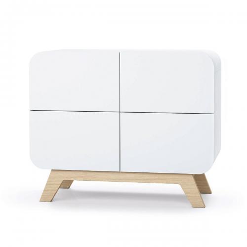 Comoda cu colturi rotunjite Home Concept - Camera copilului - Mobila camera copii