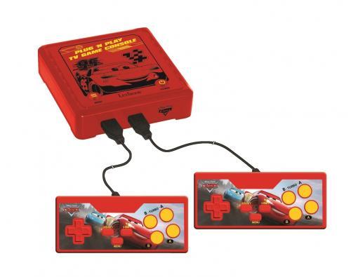 Consola TV Plug NPlay Disney Cars - 300 jocuri - Jucarii interactive -