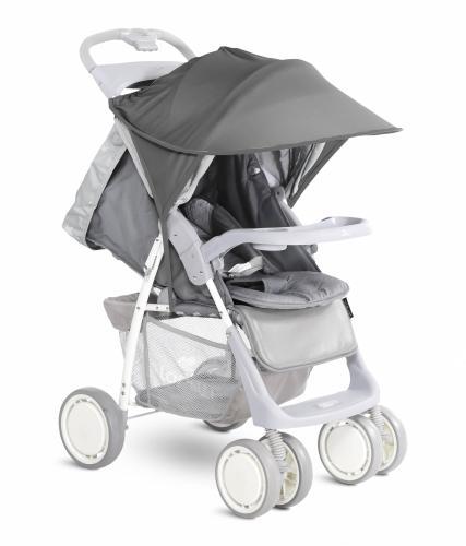 Copertina pentru carucior protectie solara Dark Grey - La plimbare - Accesorii carucioare