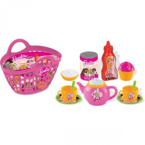 Cos de picnic cu accesorii Barbie - Jucarii de imitatie -