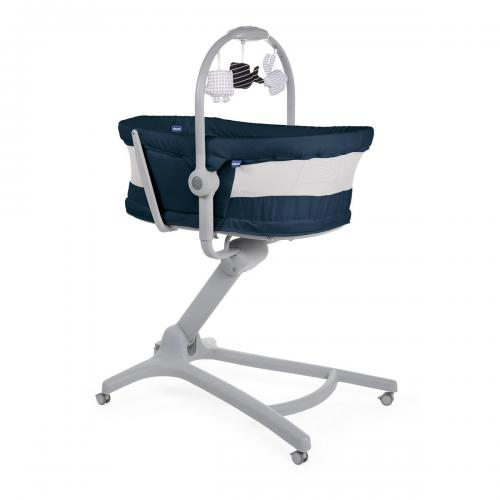 Cosulet multifunctional 4 in 1 Chicco Baby Hug Air - Albastru - 0 luni+ - Centre de activitate copii -