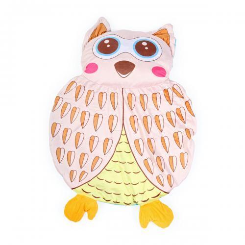 Covoras de joaca Cangaroo OWL PM413 - Camera copilului - Centru de activitati