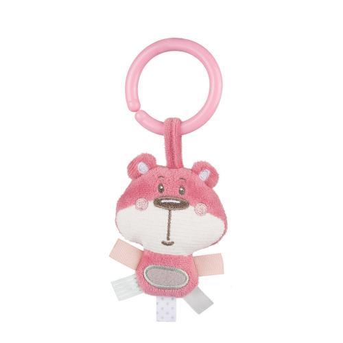 Covoras de joaca centru de activitati Pastel Friends 0 luni + roz - Camera copilului - Centru de activitati