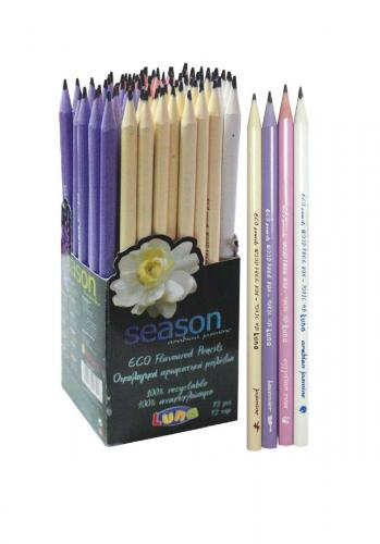 Creion eco - Luna - Rechizite scolare -