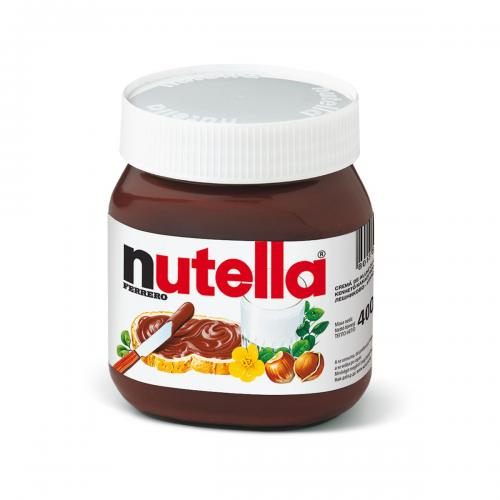 Crema de cacao cu alune Nutella - T400 - 400 g - Alimentatia bebelusului - Miere albine