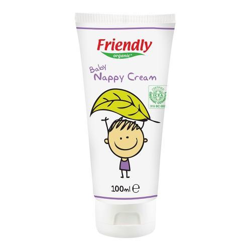 Crema pentru zona scutecului Friendly Organic - 100 ml - Ingrijirea bebelusului - Creme si lotiuni bebe