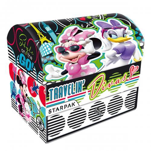 Cutie de bijuterii din carton Starpak - Disney Minnie - Jucarii de imitatie -