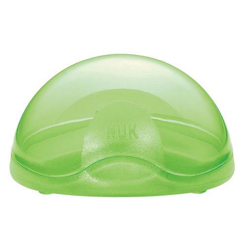 Cutie port suzeta Nuk verde - Suzete si accesorii -