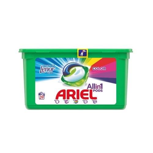 Detergent Ariel Capsule 39 x 27g Lenor Touch 3 in 1 Pods - Home deco -