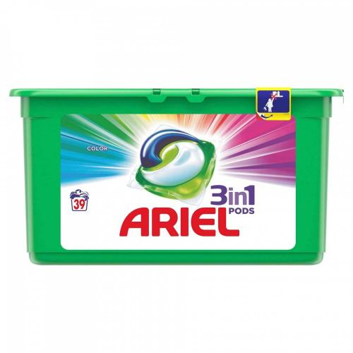 Detergent Ariel Capsule Color - 39 x 27g - Home deco -