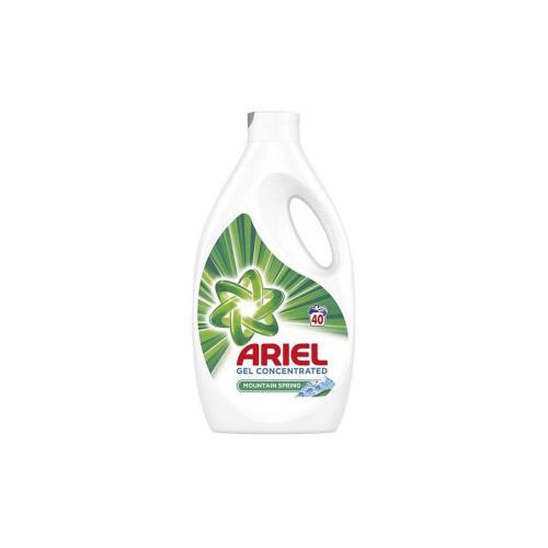 Detergent Ariel Lichid Mountain Spring 40 Spalari - Gel 22 l - Home deco -
