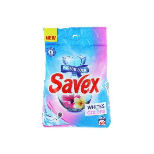 Detergent automat Savex - White Colors - 6Kg - Home deco -