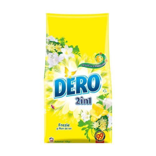 Detergent Dero 2 in 1 Automat Frezie si Flori de tei - 10Kg - Home deco -