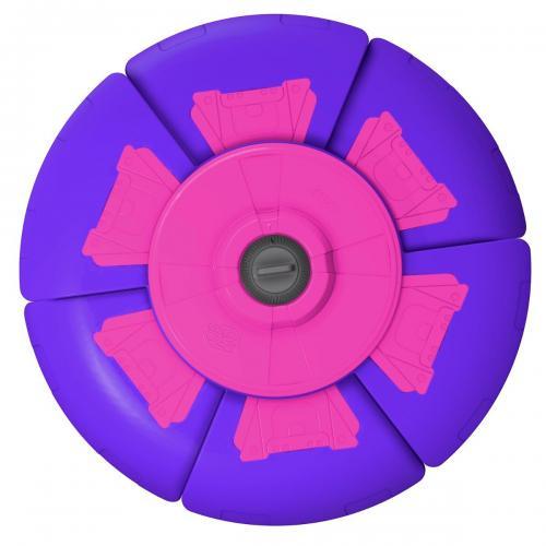 Disc zburator cu timer Slider Disc - Mov - Jocuri in aer liber -