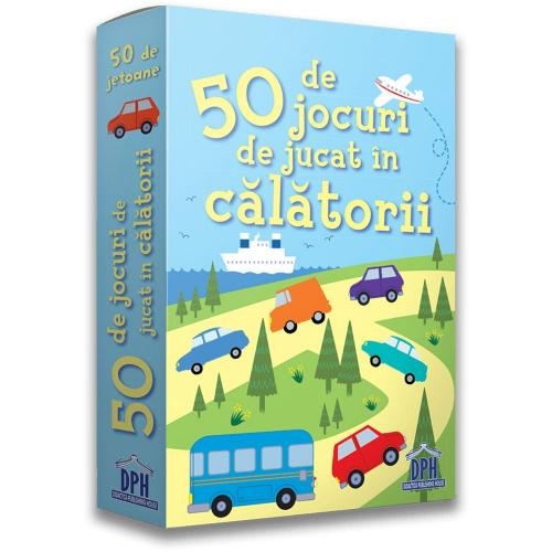 Editura DPH - 50 de jocuri de jucat in calatorii - Carti pentru copii -