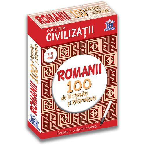 Editura DPH - Romanii - 100 de intrebari si raspunsuri - Gabriela Girmacea - Carti pentru copii -