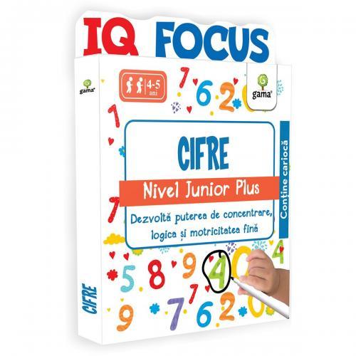Editura Gama - Cifre - Nivel Junior Plus - Carti pentru copii -