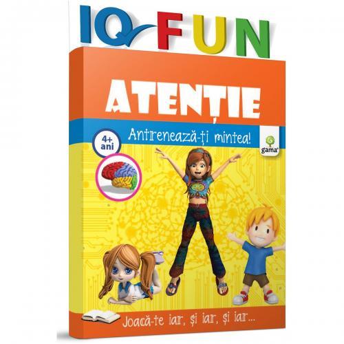 Editura Gama - IQ FUN Atentie - Carti pentru copii -