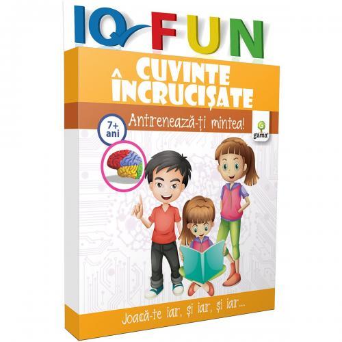 Editura Gama - IQ FUN Cuvinte incrucisate - Carti pentru copii -