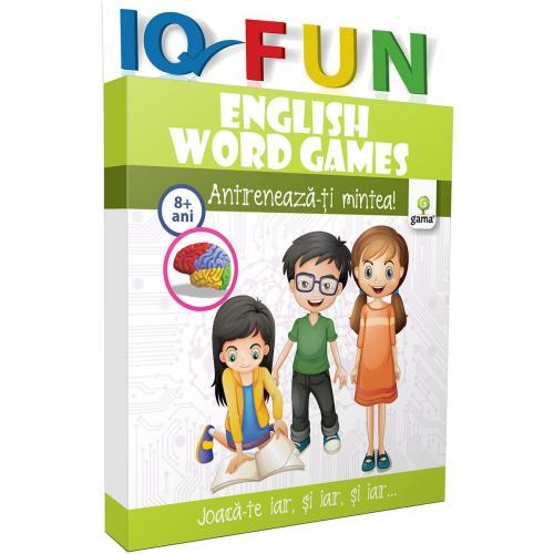 Editura Gama - IQ FUN English Words Games - Carti pentru copii -