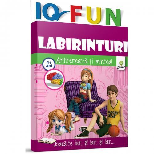 Editura Gama - IQ FUN Labirinturi - Carti pentru copii -