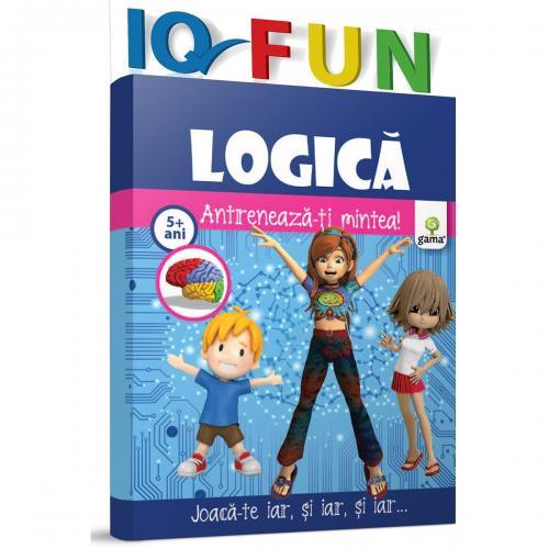 Editura Gama - IQ FUN Logica - Carti pentru copii -