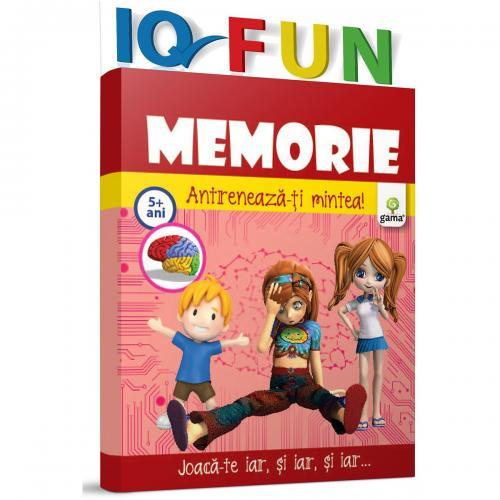 Editura Gama - IQ FUN Memorie - Carti pentru copii -