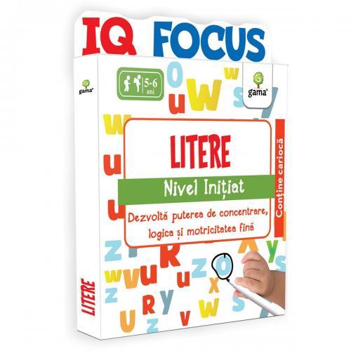 Editura Gama - Litere - Nivel Initiat - Carti pentru copii -