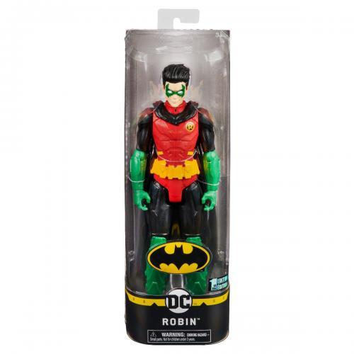 Figurina articulata Batman - Robin 20125290 - Figurine pentru copii -
