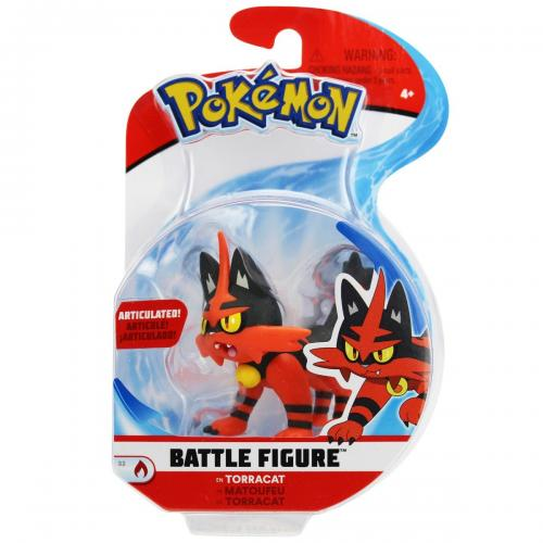 Figurina articulata Pokemon S2 – Torracat (95015)