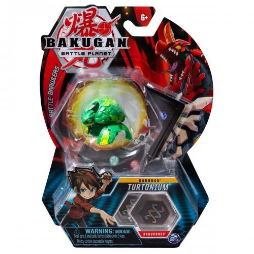 Figurina Bakugan Battle Planet - 9C Archelon Green - 20113143 - Figurine pentru copii -