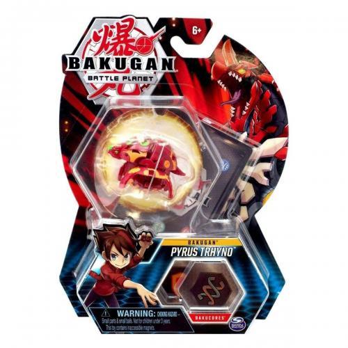 Figurina Bakugan Battle Planet - Pyrus Trhyno - 20118445 - Figurine pentru copii -
