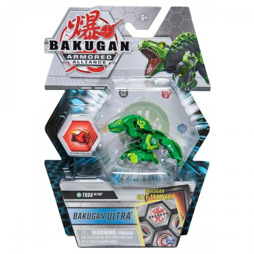 Figurina Bakugan Ultra Armored Alliance - Trox - 20122470 - Figurine pentru copii -