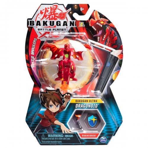 Figurina Bakugan Ultra Battle Planet - 1A Dragonoid Red - 20109016 - Figurine pentru copii -