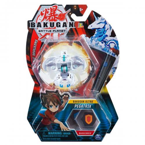 Figurina Bakugan Ultra Battle Planet - Pegasus White - 20109045 - Figurine pentru copii -