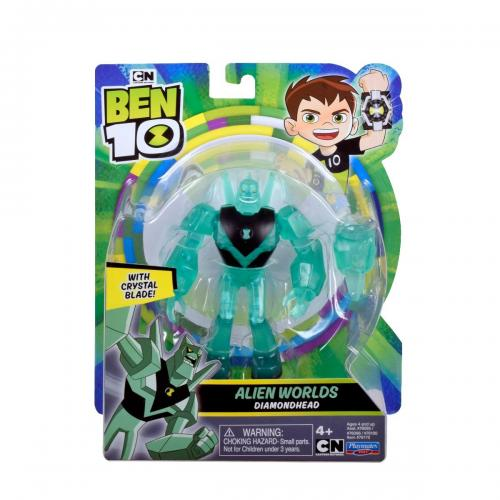 Figurina Ben 10 – Alien Worlds – Diamondhead – 12 cm – 76170