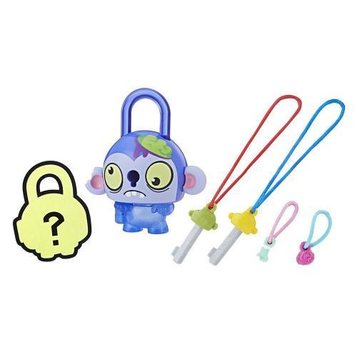 Figurina breloc Lock Stars - Monstru cu creier (E3171) - Figurine pentru copii -