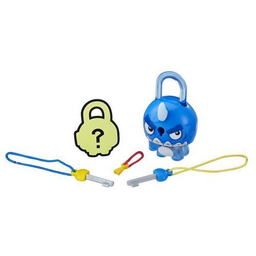 Figurina breloc Lock Stars - Rechin albastru (E3208) - Figurine pentru copii -