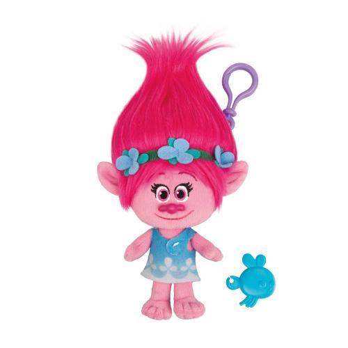 Figurina breloc Trolls - Poppy - 22 cm - Figurine pentru copii -