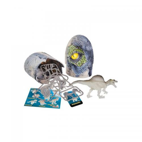 Figurina dinozaur fluorescent in ou Simba - Spinosaurus - 10 cm - Figurine pentru copii -