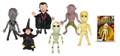 Figurina flexibila Toy Major - Stretchy monster - Figurine pentru copii -