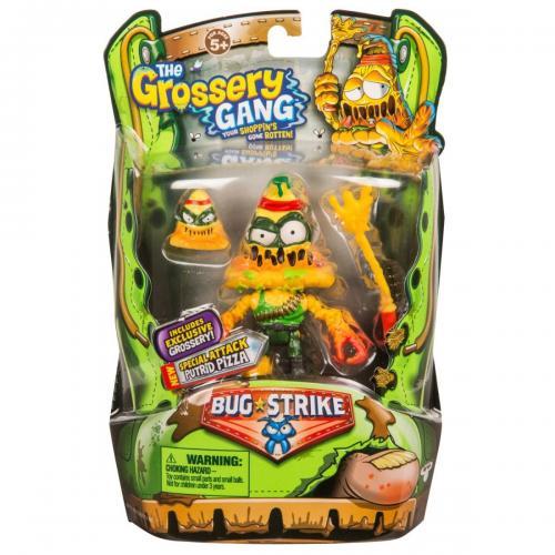 Figurina Grossery Gang Putrid Pizza Sezonul 4 - Figurine pentru copii -