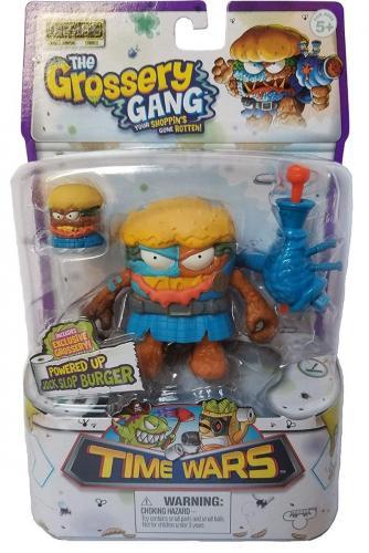 Figurina Grossery Gang - Time Wars - S5 - Jock Slop Burger - Figurine pentru copii -