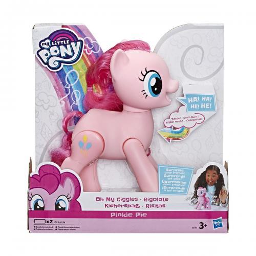 Figurina interactiva My Little Pony - Oh My Giggles - Pinkie Pie - Figurine pentru copii -