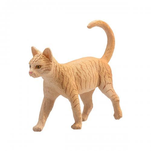 Figurina Mojo - Pisica Ginger Tabby - Figurine pentru copii -