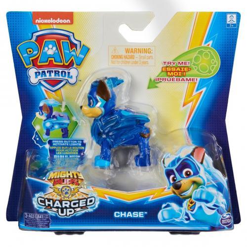 Figurina Paw Patrol Mighty Pups - Chase 20122532 - Figurine pentru copii -