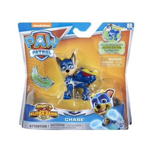 Figurina Paw Patrol Mighty Pups Super Paws – Chase 20114286